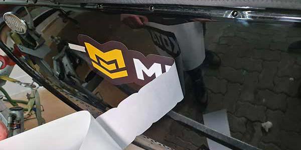 Logo Aufkleber Angelmarken