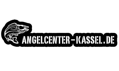 Angelcenter Kassel Logo als Aufkleber