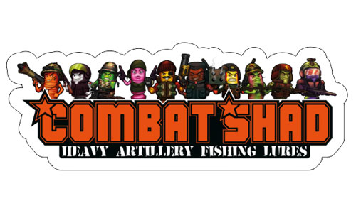 Combat Shad Logo als Aufkleber