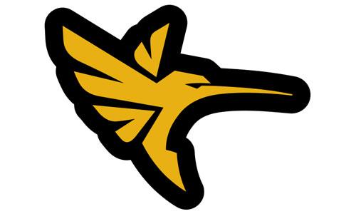 Humminbird Logo als Aufkleber