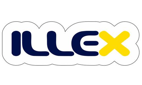 Illex Logo als Aufkleber