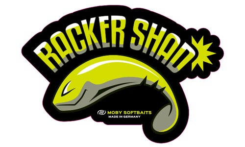 Moby Softbaits Logo als Aufkleber
