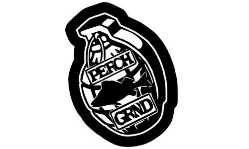 Perch GRND Logo als Aufkleber