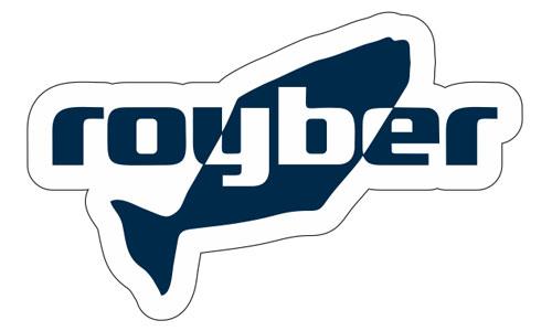 Royber Logo als Aufkleber