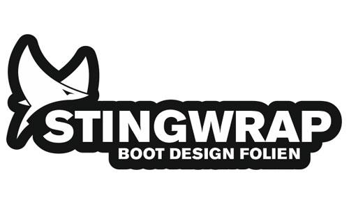 Stingwrap Logo als Aufkleber