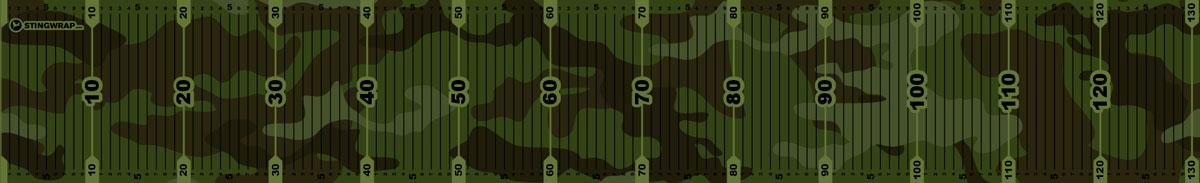 Fischmaßband Camouflage