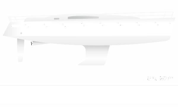 Zierstreifen für Segelboot